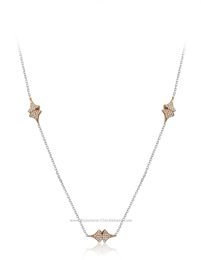 Bijoux en ligne Collier Diamants 52076
