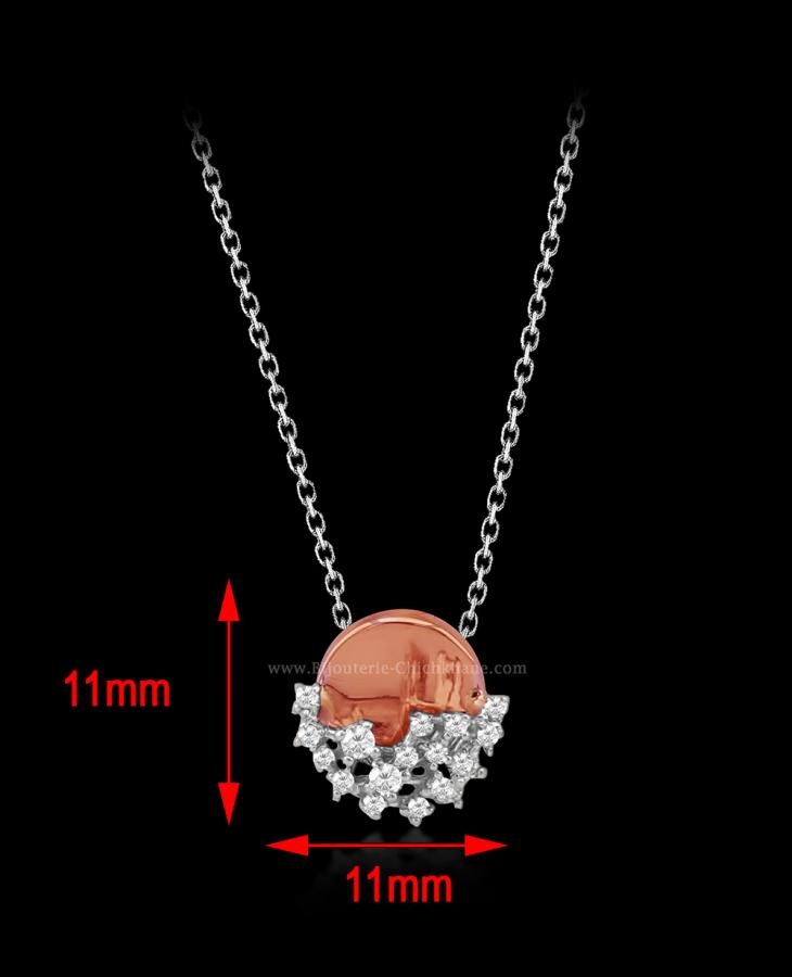 Bijoux en ligne Collier Diamants 52159