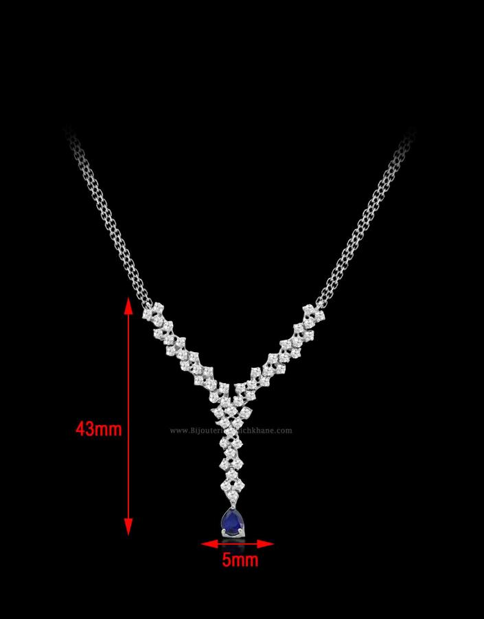 Bijoux en ligne Collier Diamants 52161