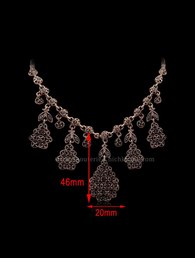 Bijoux en ligne Collier Diamants Rose ''Chichkhane'' 53095