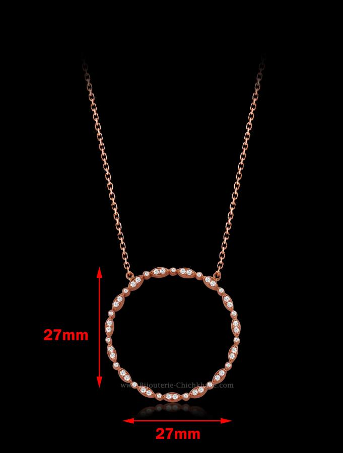 Bijoux en ligne Collier Diamants 53277