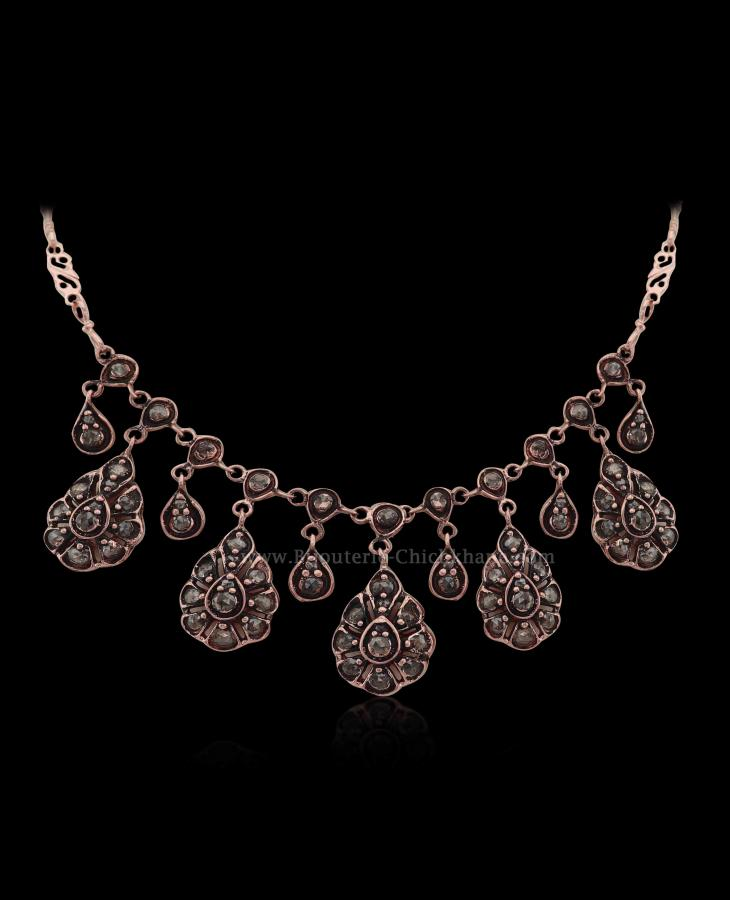 Bijoux en ligne Collier Diamants Rose ''Chichkhane'' 54403