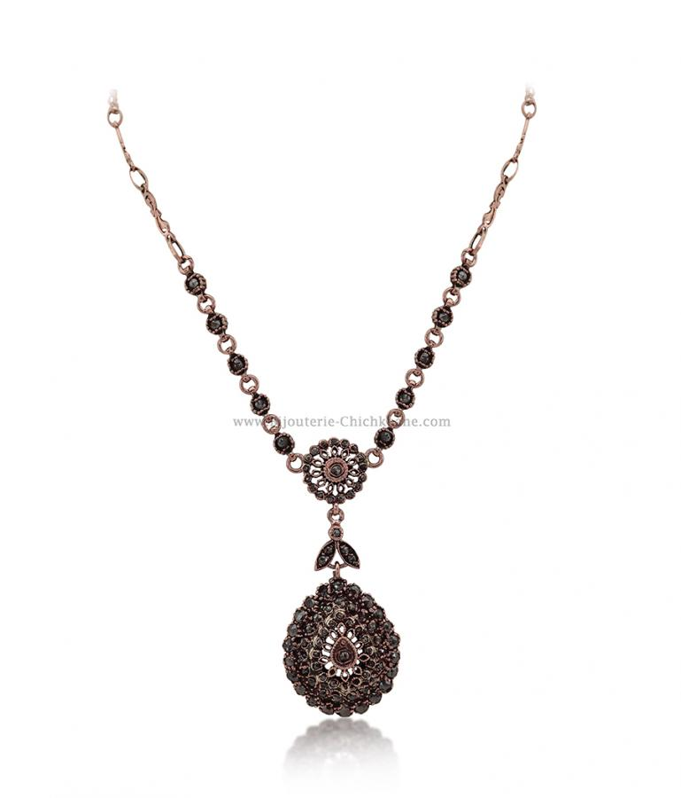 Bijoux en ligne Collier Diamants Rose ''Chichkhane'' 54528