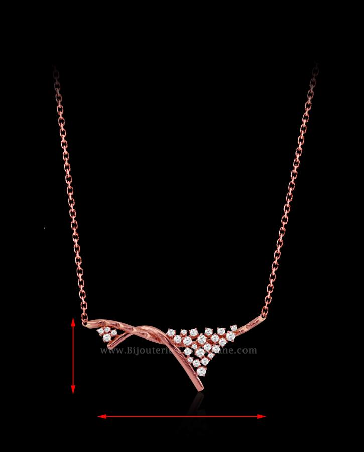 Bijoux en ligne Collier Diamants 54565