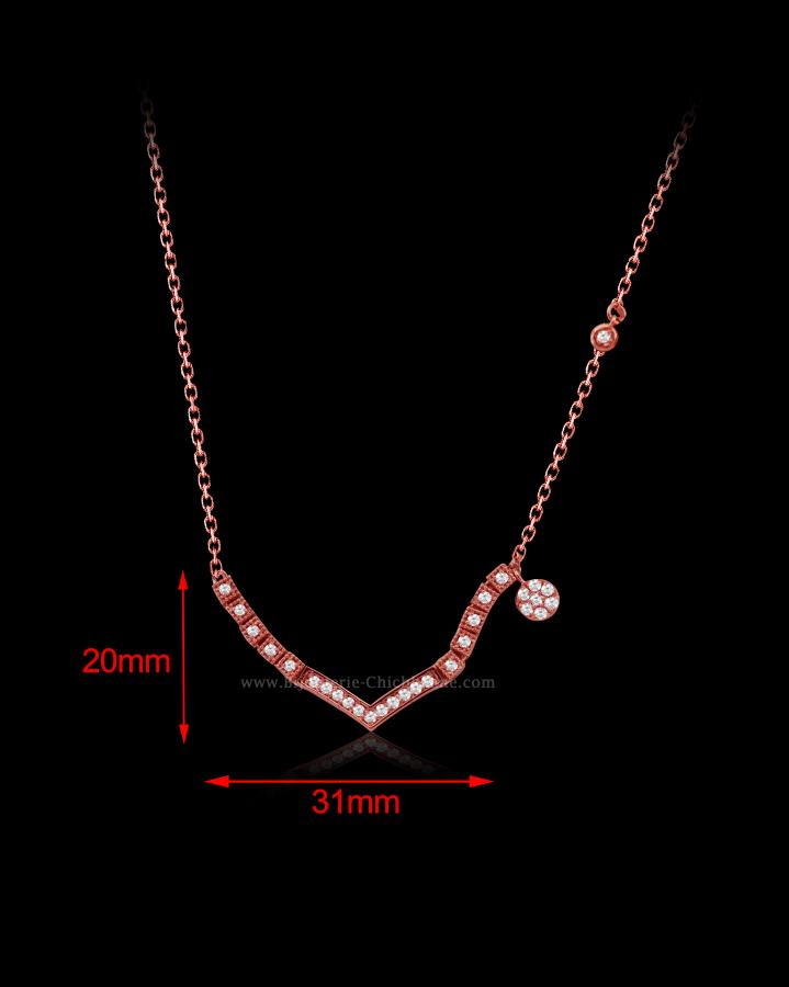 Bijoux en ligne Collier Diamants 54577