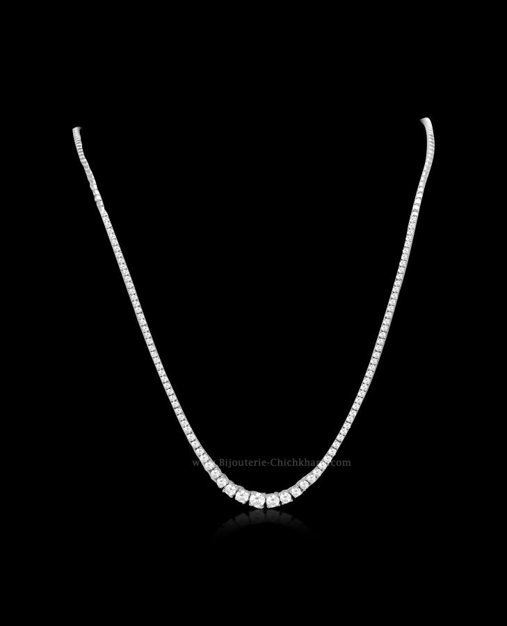 Bijoux en ligne Collier Diamants 54825