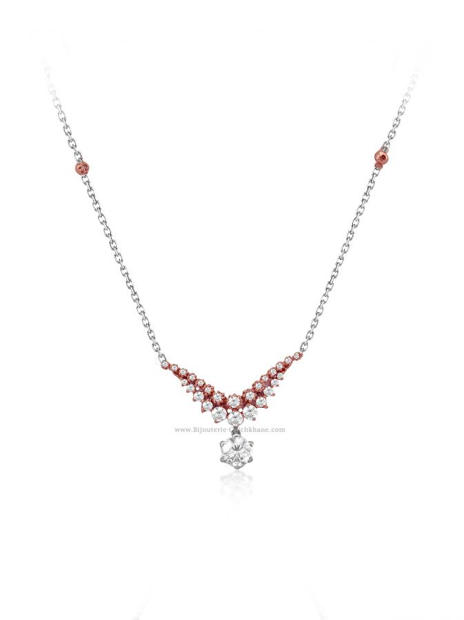 Bijoux en ligne Collier Diamants 55165