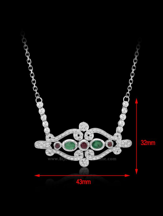 Bijoux en ligne Collier Diamants 55397