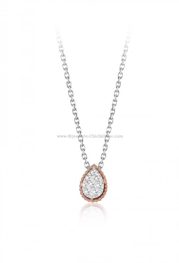 Bijoux en ligne Collier Diamants 55467