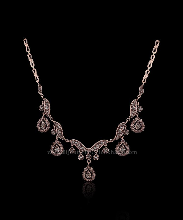 Bijoux en ligne Collier Diamants Rose ''Chichkhane'' 55918