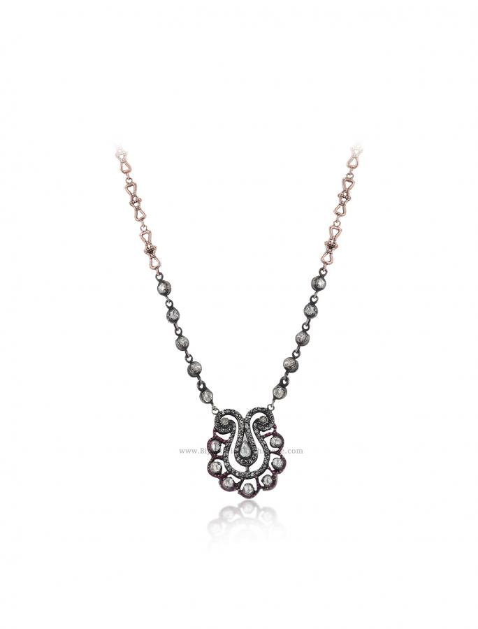 Bijoux en ligne Collier Diamants Blanc ''Chichkhane'' 56001