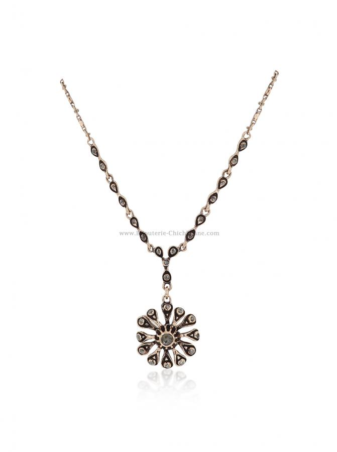 Bijoux en ligne Collier Diamants Rose ''Chichkhane'' 56006