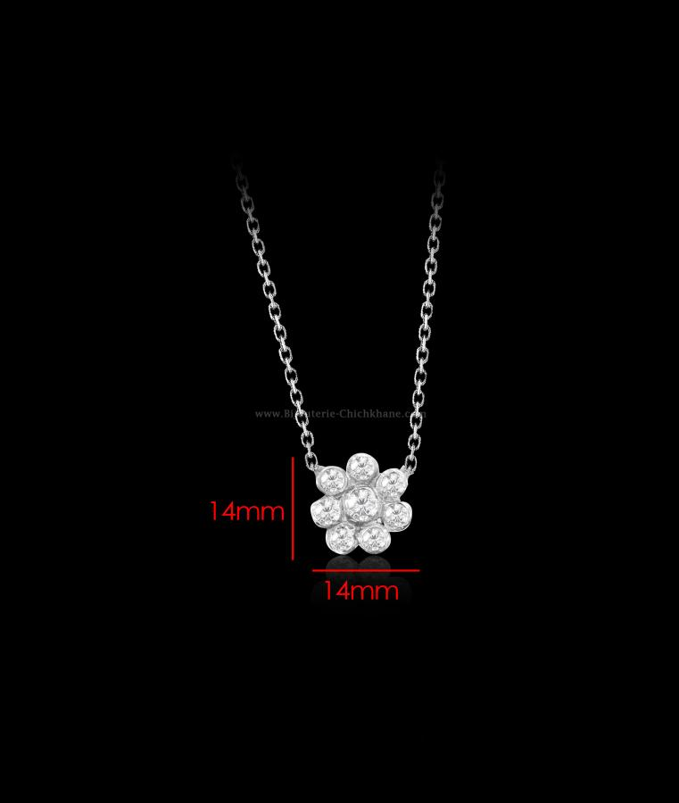 Bijoux en ligne Collier Diamants Blanc ''Chichkhane'' 56336