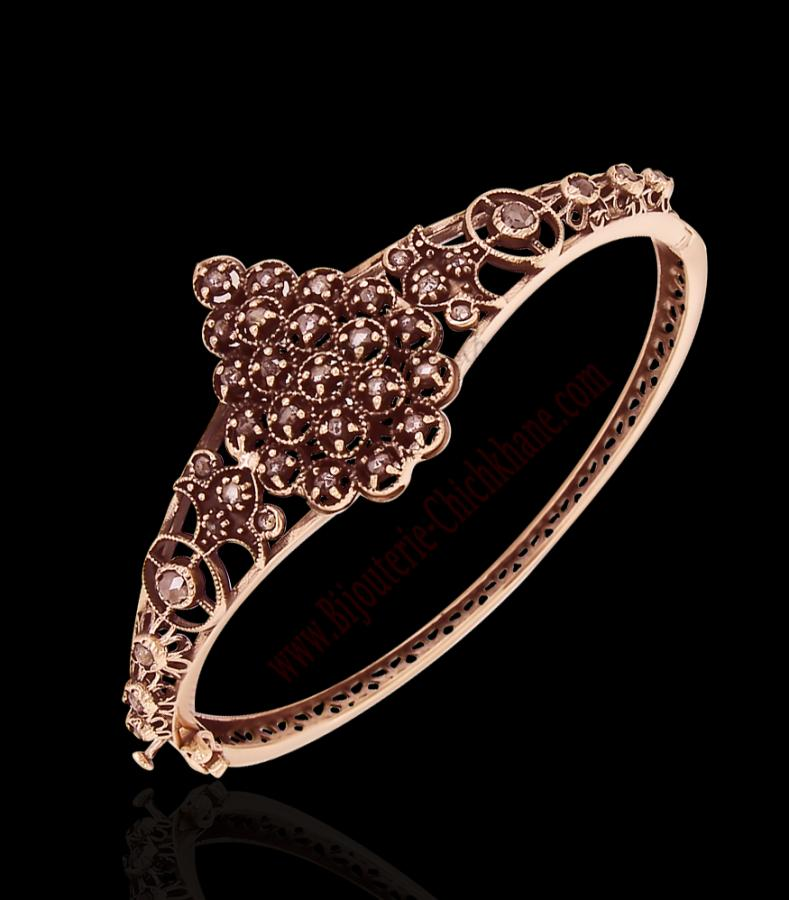 Bijoux en ligne Bracelet Diamants Rose ''Chichkhane'' 58170