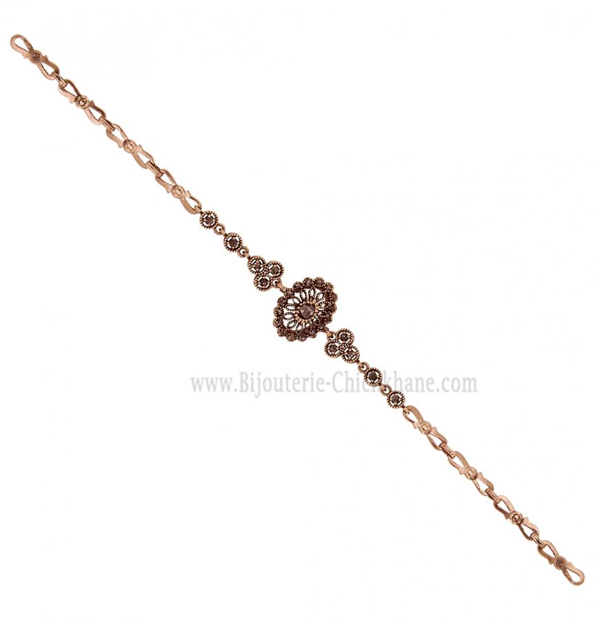 Bijoux en ligne Gourmette Diamants Rose ''Chichkhane'' 58198