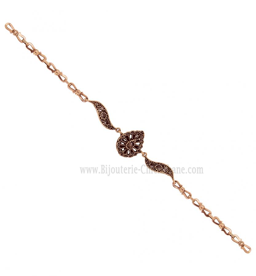 Bijoux en ligne Gourmette Diamants Rose ''Chichkhane'' 58199