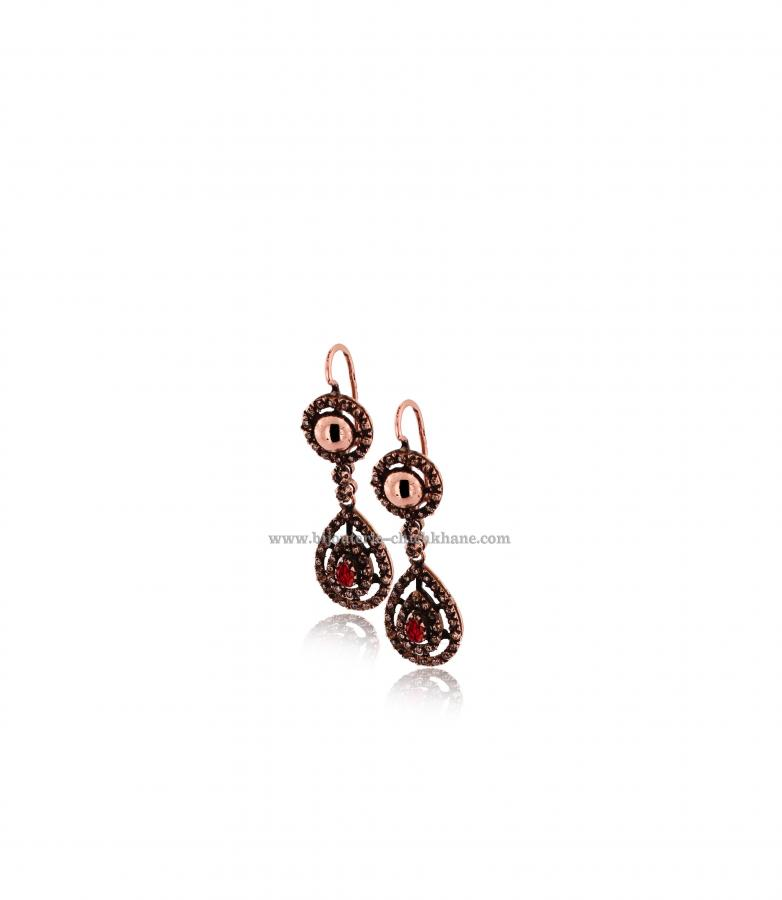 Bijoux Boucles D'oreilles Diamants Rose ''Chichkhane'' 43215