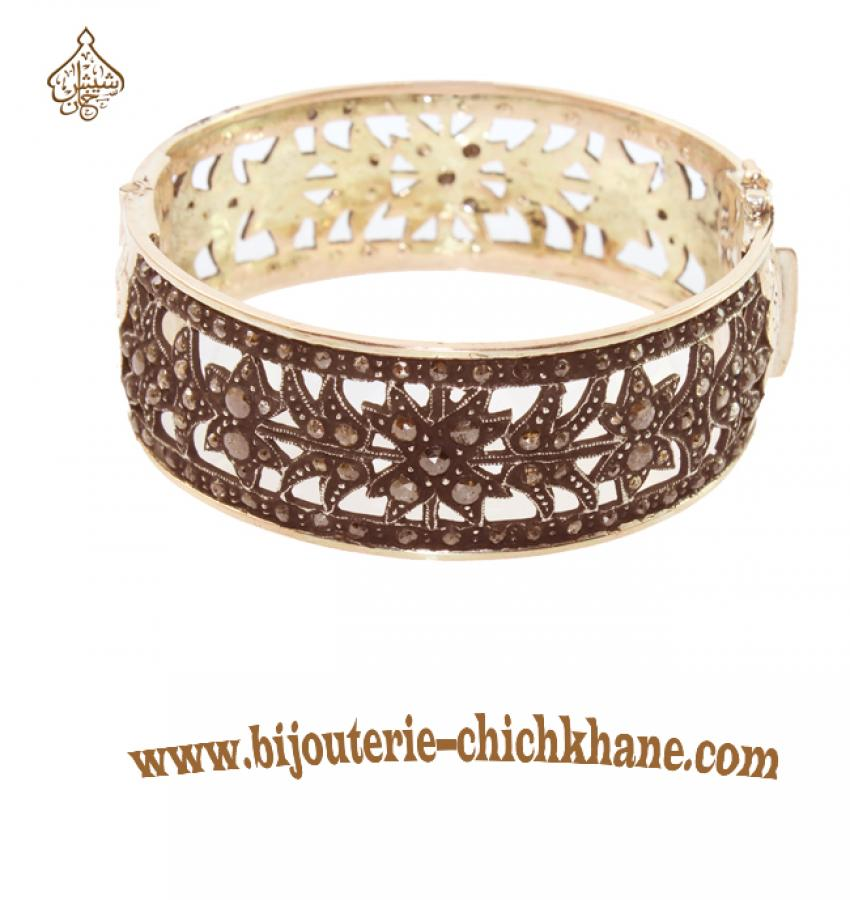Bijoux en ligne Bracelet Diamants Rose ''Chichkhane'' 35224