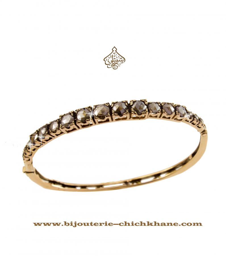 Bijoux en ligne Bracelet Diamants Rose ''Chichkhane'' 42865