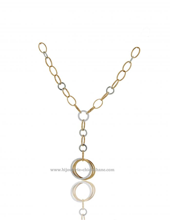 Bijoux en ligne Collier Diamants 39031