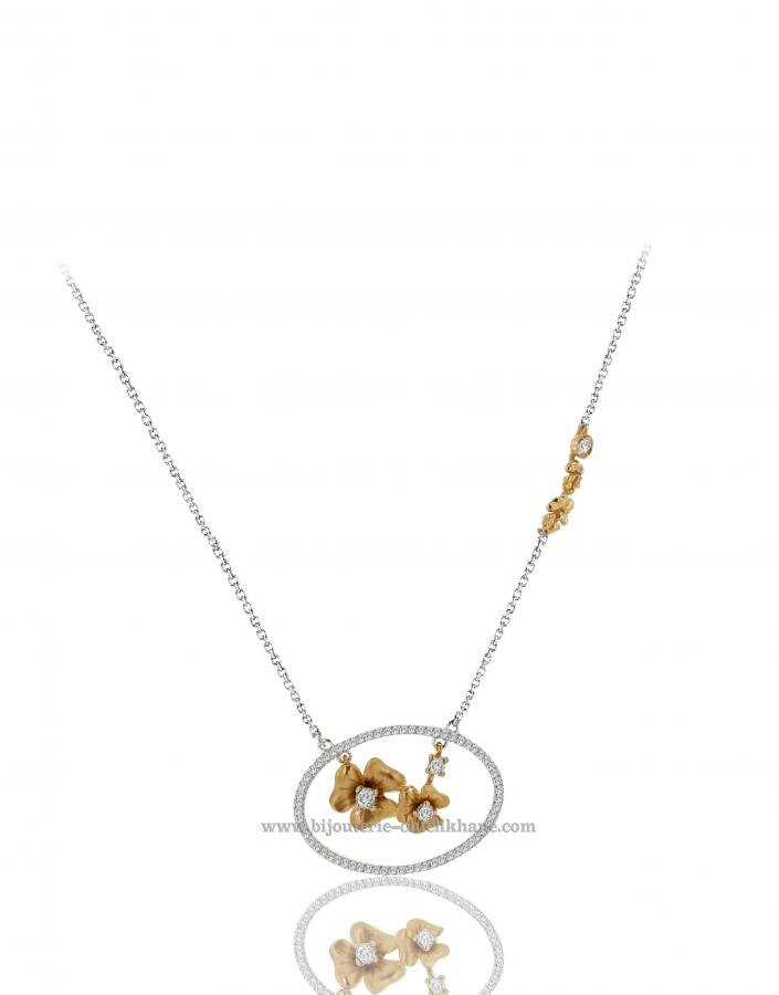Bijoux en ligne Collier Diamants 39038