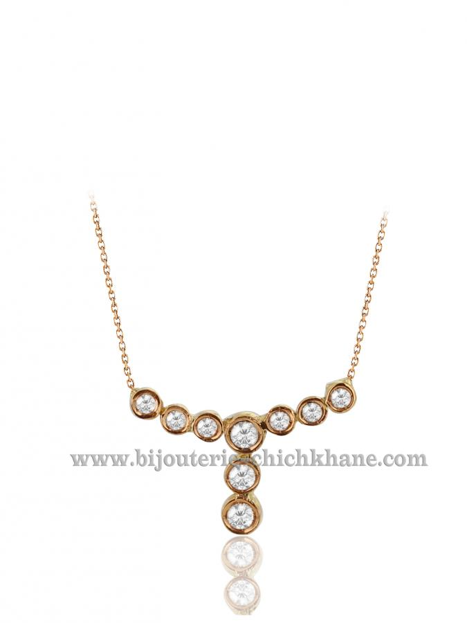 Bijoux en ligne Collier Diamants 40508