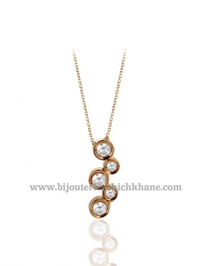 Bijoux en ligne Collier Diamants 40509