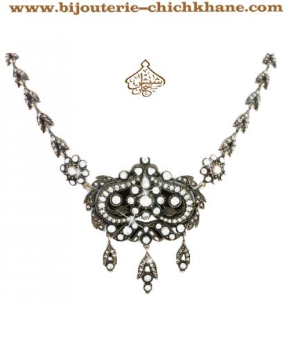 Bijoux en ligne Collier Diamants Blanc ''Chichkhane'' 29912