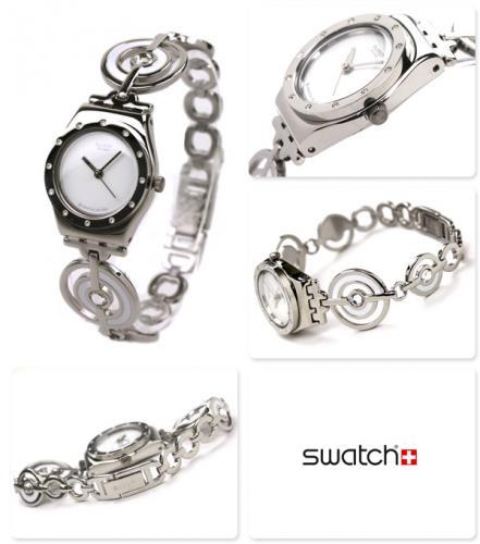 Montre swatch homme bracelet metal