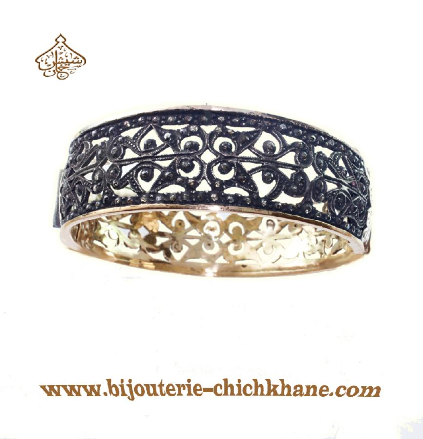 Bijoux en ligne Bracelet Diamants Rose ''Chichkhane'' 35226